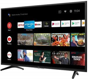 VU HD Ready UltraAndroid LED TV 32GA & Cough