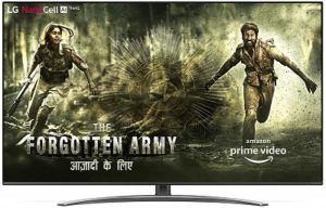 LG 55 Inch Nanocell TV & Cough