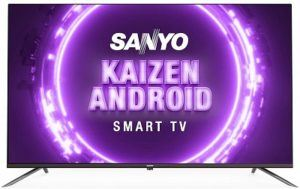 Sanyo 55 Inch 4K Smart LED TV & Cough
