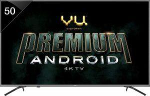 VU 50 Inches 4K Ultra & Cough
