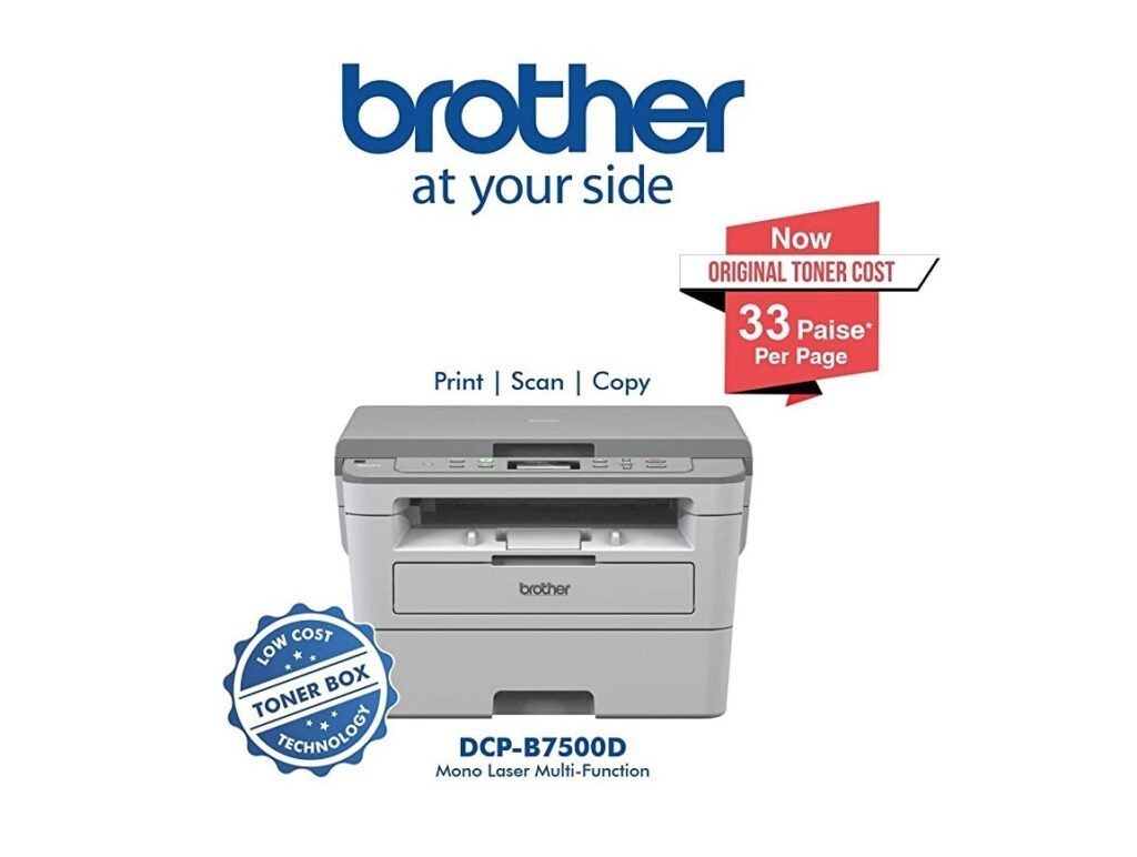 Brother DCP-B7500D Multi-Function Monochrome Laser Printer