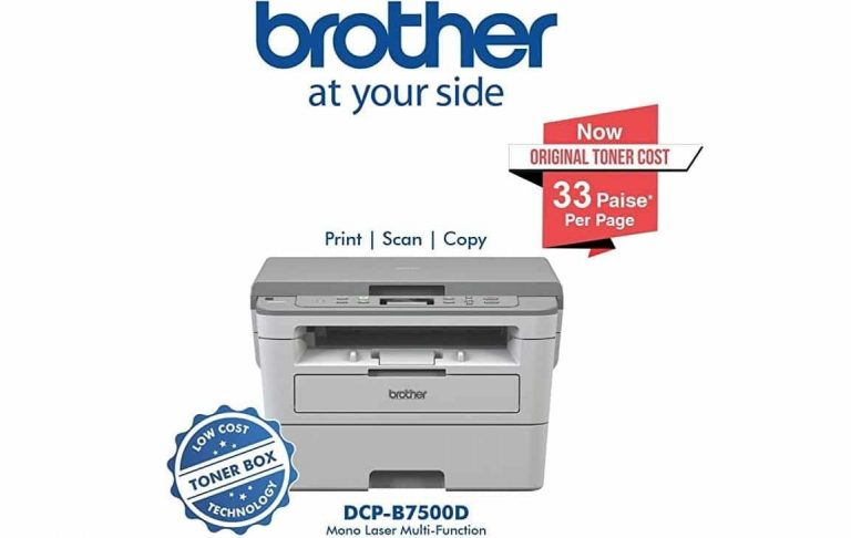Brother DCP-B7500D Review
